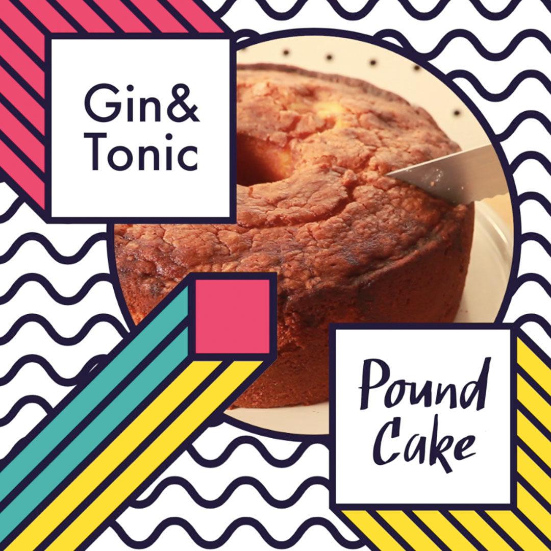 gin and tonic cake hero shot