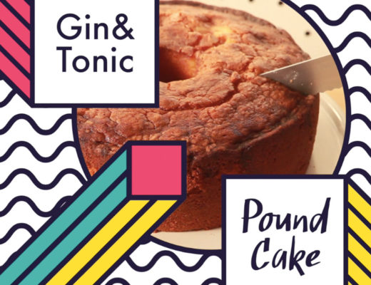 gin and tonic cake hero shot
